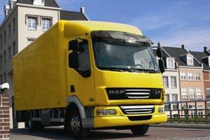 Vrachtwagen verhuur